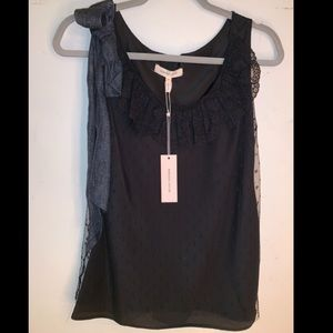 *NWT* Rebecca Taylor Sleeveless Lace Top